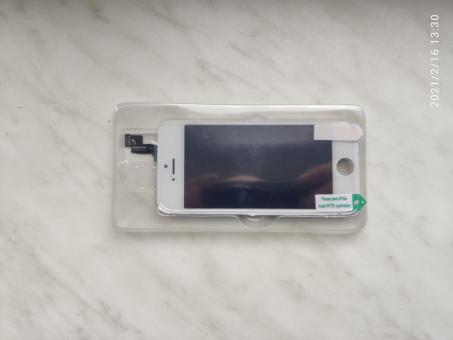 Digitizér + displej pro iPhone 5S bílý
